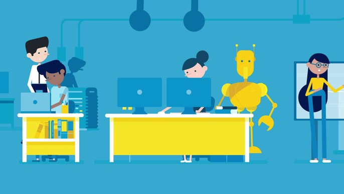 American Express - Science - The digital agency Carrot asked us to create a series of animations to help demonstrate to college students as well as recent graduates, that a job at American Express will challenge them in new and unexpected ways.