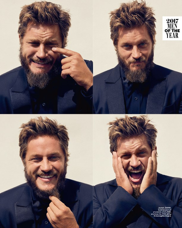 Bernstein & Andriulli - News - GQ's Actor of the Year, Travis Fimmel,  Brings Some Chaos to Jesse Lizotte