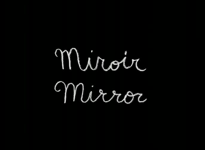 Miroir Mirror - Jennifer Venditti -