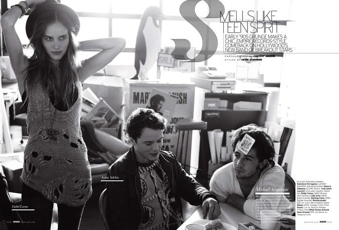 Elle Magazine - Carter Smith - 2008 -