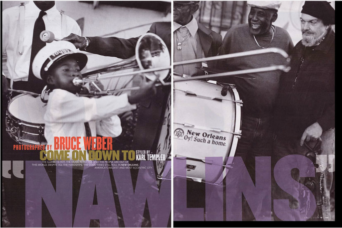 Come on Down to 'Nawlins' - Bruce Weber - 2008 -