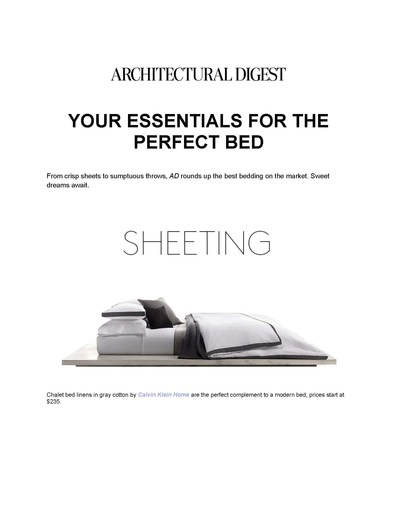 Architectural Digest, July 2015 -