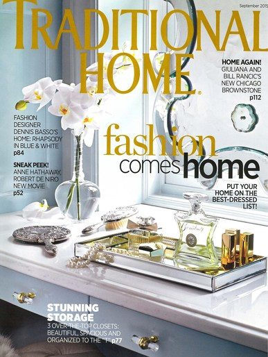 Traditional Home, September 2015 -