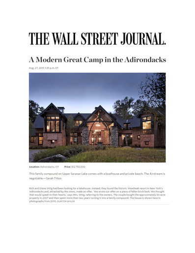 The Wall Street Journal, August 27, 2015 -